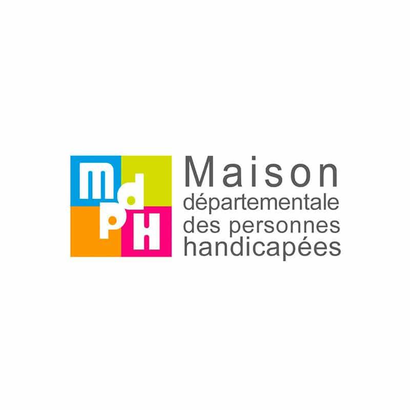 Logo Maison départementale des personnes handicapées